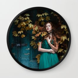 Autumn beauty Wall Clock
