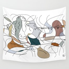 Gulliver in The Loop Wall Tapestry