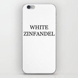 White Zinfandel Wine Costume iPhone Skin