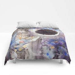 Super Moon Lunar Eclipse Comforters