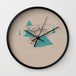 squiggles 4 Wall Clock