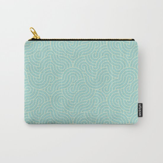 SWIRL / breeze Carry-All Pouch