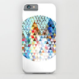 geometry rocks iPhone Case