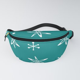 Atomic Era Space Age Teal Fanny Pack