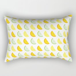 Citrus Segments Rectangular Pillow