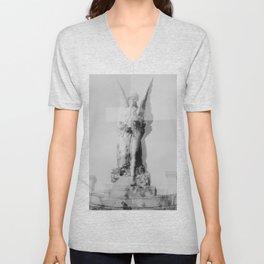 Distorted Angel Unisex V-Neck