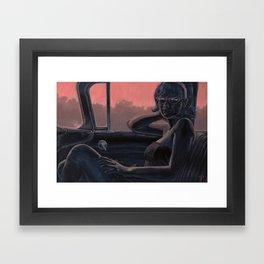 Between Towns Framed Art Print