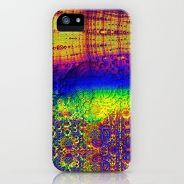 Nearing Narcosis iPhone Case