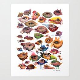 Bird's Eye Art Print