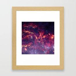 Star Field in Deep Space Framed Art Print