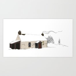 Cottage 2 Art Print