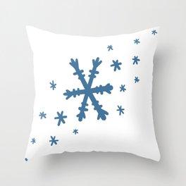 Snowflake Design! Throw Pillow