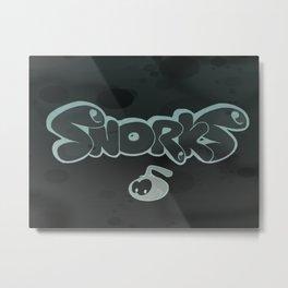 Snorky Metal Print