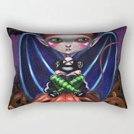 Halloween Little Devil Rectangular Pillow