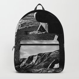 Seaside Bench. Backpack