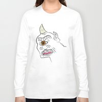 cyclops Long Sleeve T-shirts featuring The Cyclops by Oliver Lake
