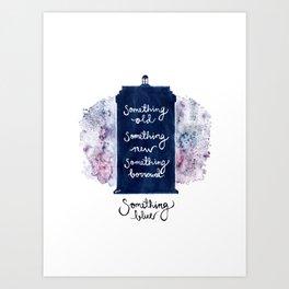 tardis - doctor who Art Print