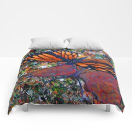 Butterfly-7 Comforters