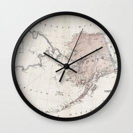 Northwestern America - Alaska - 1867 Wall Clock