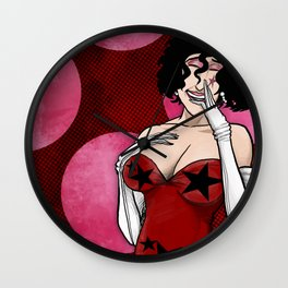 VLADRUSHKA: Revolt Is Glamorous Wall Clock
