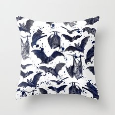 BATS Throw Pillow