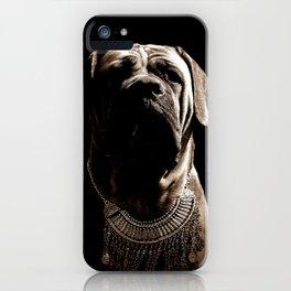 Dramatic Boerboel iPhone Case