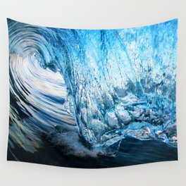 Crystal Blue Persuasion II Wall Tapestry