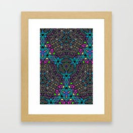 Invaders Pattern No.2 Framed Art Print