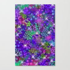 Stained Glass look Series 2 Canvas Print