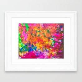 Deterministic Imperfection Framed Art Print
