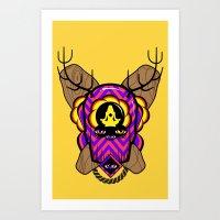 All seeing eyes. Art Print