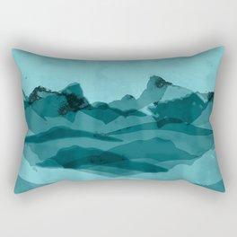 Mountain X 0.1 Rectangular Pillow