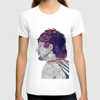 louis T-shirts featuring Geometric Louis by Peek At My Dreams
