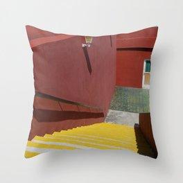 Cuban hotel Throw Pillow