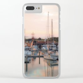 Santa Maria Clear iPhone Case