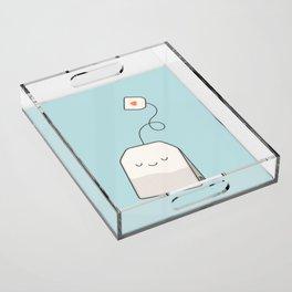 Tea time Acrylic Tray