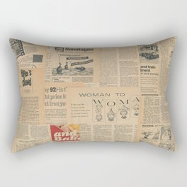 Vintage Fifties Magazine Rectangular Pillow