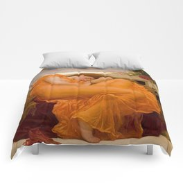 FLAMING JUNE - FREDERIC LEIGHTON Comforters