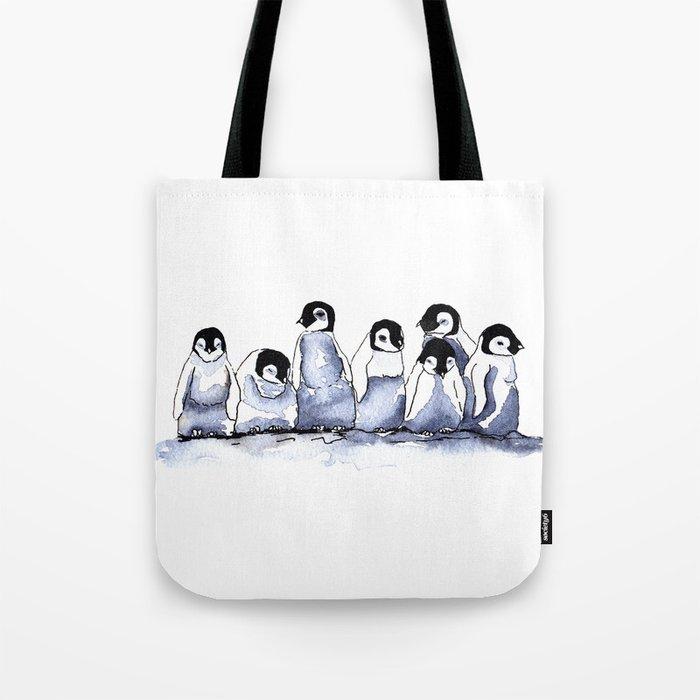 Penguin Chicks Tote Bag