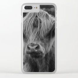 Highland cow III Clear iPhone Case