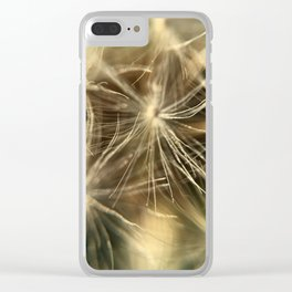 Common Dandelion in Fort Mason Clear iPhone Case