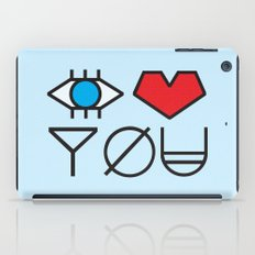 EYE HEART YOU iPad Case