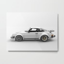 934 white Metal Print