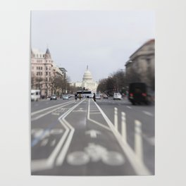 In the Streets of DC Poster
