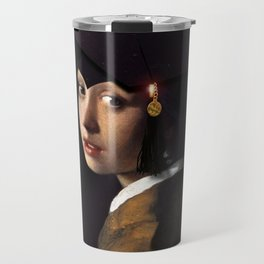 Girl with the Grad Cap Travel Mug