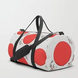 Koi and Sun Duffle Bag