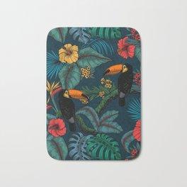 Tropical garden 2 Bath Mat