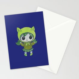 Moonkhin Iridum Olive Stationery Cards
