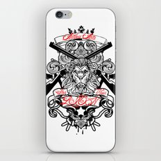 Stop Your Lion iPhone & iPod Skin