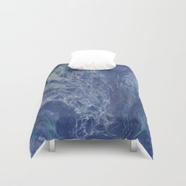 Lepidoptera Transparency Duvet Cover
